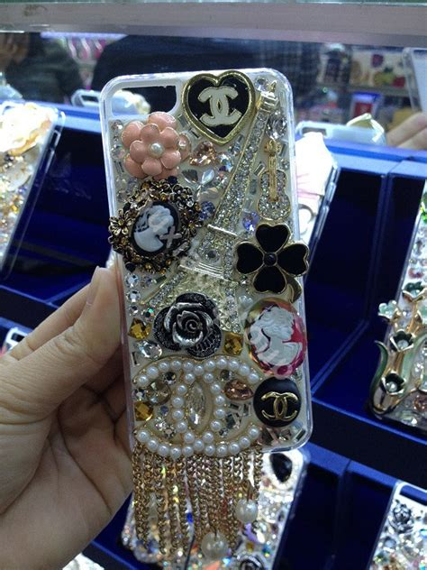 Bling Swarovski Ring Iphone 8 8 Plus buy wholesale bling swarovski crystals cases chanel cover for iphone 8 plus gold from