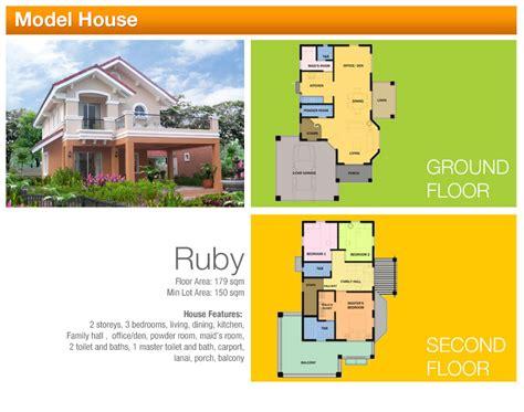2 storey house floor plan