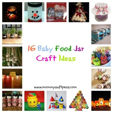 baby food jar crafts projects 16 baby food jar craft ideas craft ideas
