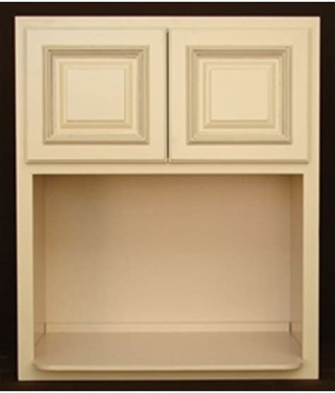 kitchen cabinet with microwave shelf heritage white rta kitchen cabinets microwave cabinet mw3030