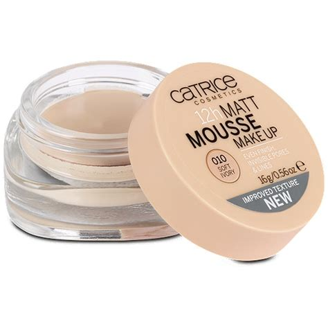 catrice matt make up catrice 12h matt mousse make up make up im dm shop