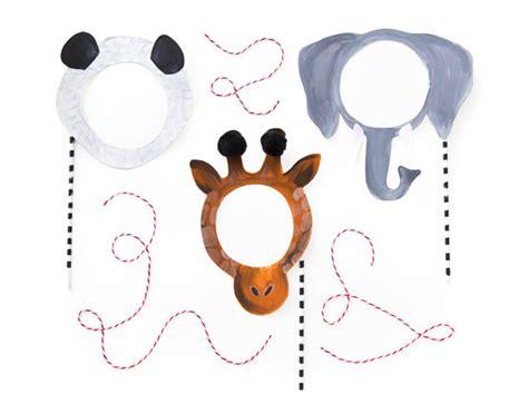 printable giraffe mask template how tuesday printable animal masks etsy journal