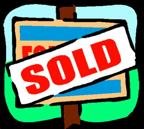 houses sold in area cartoon house clipart cliparts co
