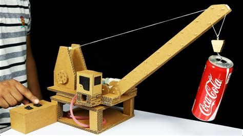 what do you need to make an electric circuit how to make remote hydraulic crane from cardboard