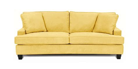 Sofa Types Butter Yellow Leather Sofa Sofamoe Info