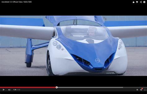 Auto Video by Fliegende Autos Erstes Video Des Aeromobil Engadget