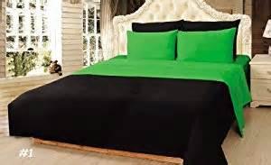 amazon com tache 4 piece 100 cotton solid lime green
