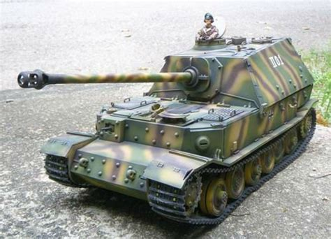 Rc Elephant 1 16 elephant jadpanzer tank rc tank in rc tanks from toys