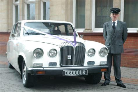 Wedding Car Newport by Daimler White Daimler Wedding Car In Newport Gwent