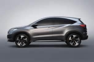 Honda Detroit Honda Unveils Suv Concept At Detroit Auto Show