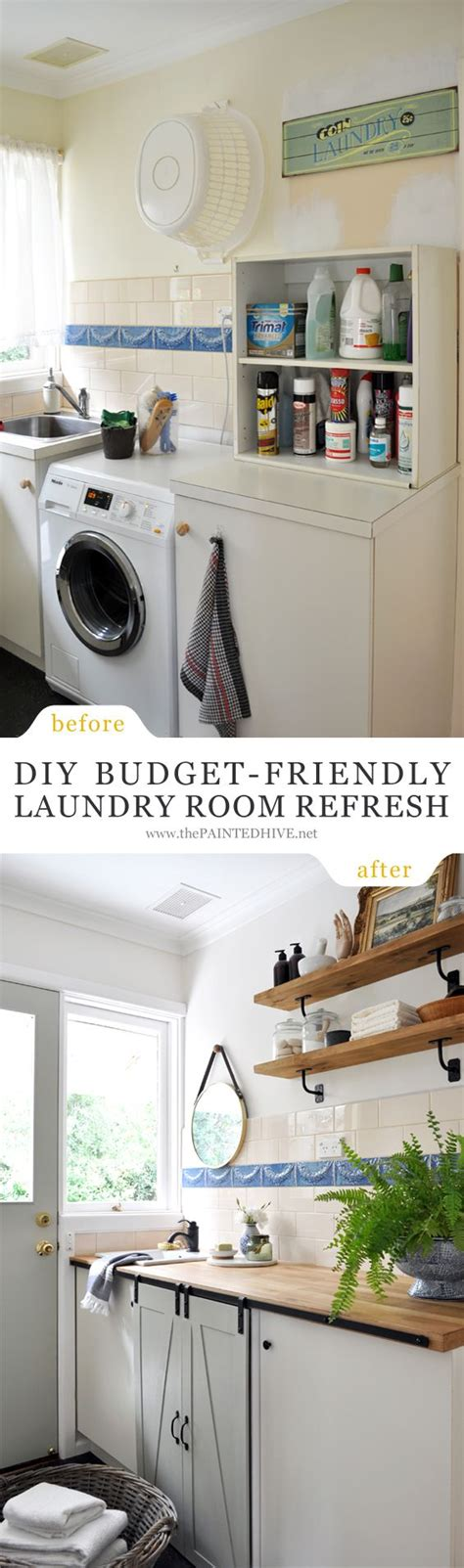 Decorating A Laundry Room On A Budget Home Decorating Diy Projects Diy Budget Friendly Laundry Room Refresh Decor Object Your