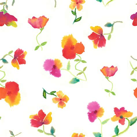 watercolor pattern flower allover pattern designs by melissa jefferson at coroflot com