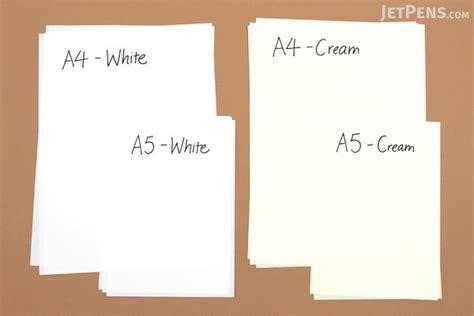 Kertas Leaf A5 Paperline 100 Tomoe River Paper A4 White 100 Sheets Jetpens