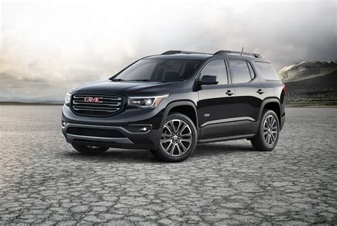 naias 2016 2017 gmc acadia saves on fuel spends on