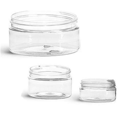 Buy Low Profile Clear Plastic Jars   Buy Wholesale from