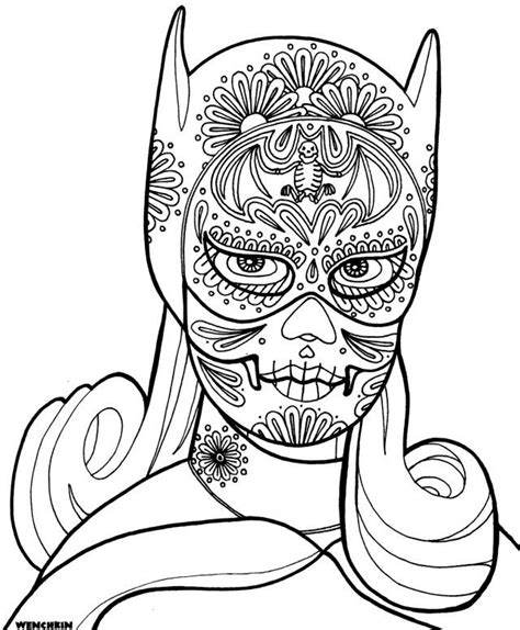 cute skull coloring pages 125 best images about sugar skulls on pinterest sugar