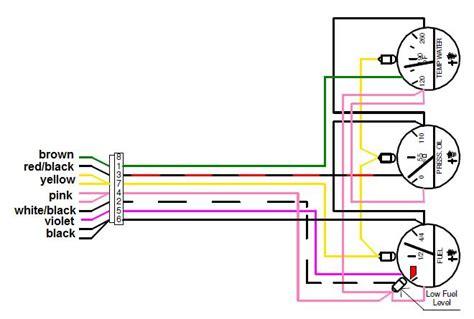 wiring boat gauges diagram wiring diagram