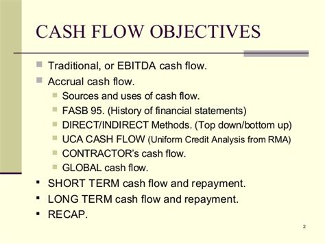 objectives of fund flow statement rma socl flow analysis blaine morrison