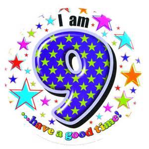 Mario Birthday Decorations Large 15cm Happy Birthday Badge Age 9 Boy