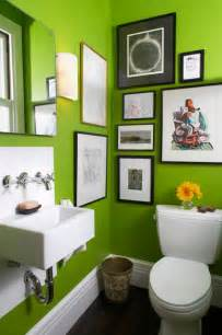 Bright green bathroom contemporary bathroom san francisco by