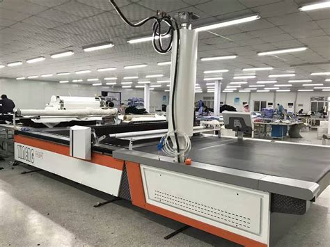 fabric pattern cutting machine industrial knitted cad pattern fabric cutting machine of
