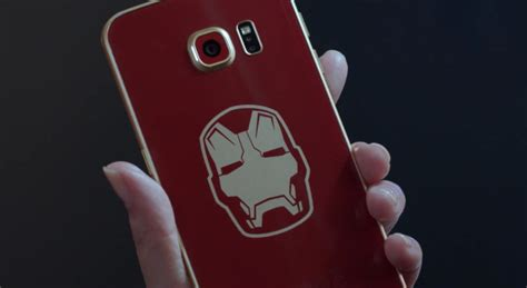 Ironman Samsung A5 2015 Series With Kick Stand samsung unveils the galaxy s6 edge iron edition with a unboxing