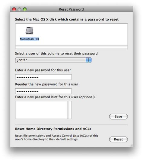reset windows 7 password mac os x how to reset recover the computer password on windows