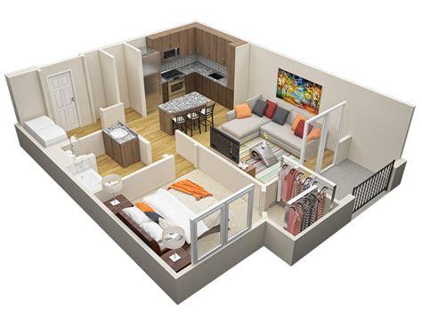 1 Bedroom Floor Plans Floor Plans Marisol