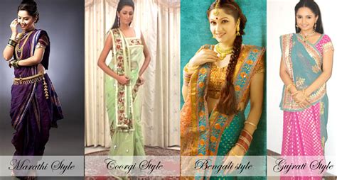 different types of hairstyles in saree wearing saree in 5 different styles stylefortune