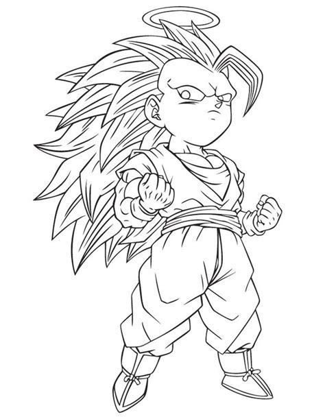 dragon ball z christmas coloring pages finas imagenes de dragon ball z para colorear imagenes