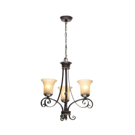 stained glass light fixtures home depot hton bay essex 3 light aged black chandelier with tea