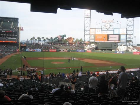 san francisco section at t park section 112 san francisco giants