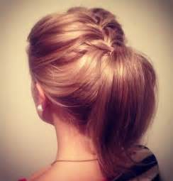 Ponytail hairstyle ideas for short hair 2016 haircuts hairstyles