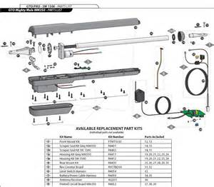 mighty mule fm350 gate opener parts mighty mule fm350 replacement parts