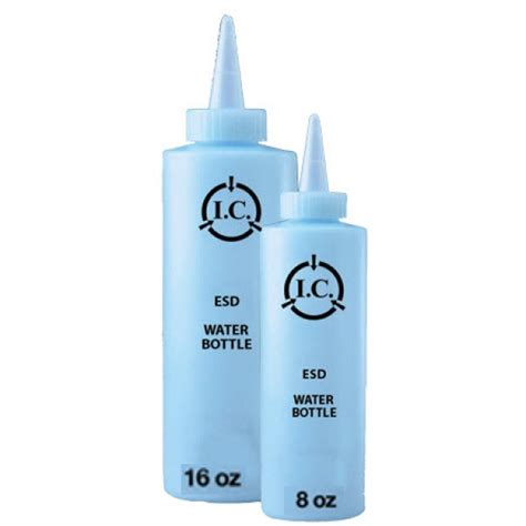Blue Water Lotion r r lotion water bottle 8oz esd safe blue