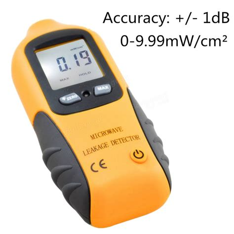 Digital Microwave Leakage Radiation Meter Detector Alat Ukur Radiasi microwave digital lcd leakage wifi radiation detector meter tester 0 9 99m w cm 178 sale banggood