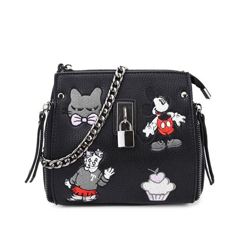 Shoulder Bag Mickey yifei leather adorable mickey shoulder bag for