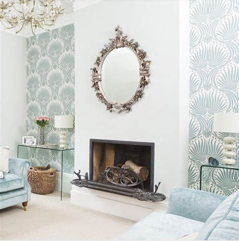Living Room Dining Room Combo Ways With Wallpaper Farrow And Ball Lotus The Decorista