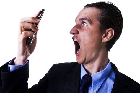 Screaming Phone are you a pesky salesperson or an experienced business
