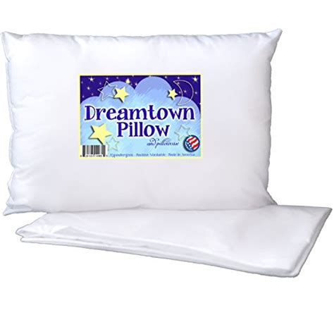 Best Pillow For Toddler by Toddler Pillow By Dreamtown With Pillowcase For