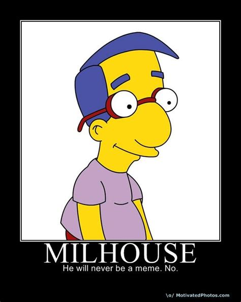 Milhouse Meme - milhouse is not a meme