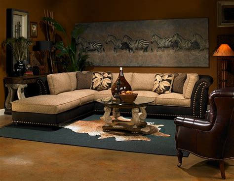 Safari Themed Living Room | decorating with a safari theme 16 wild ideas