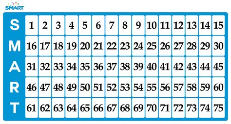 printable bingo numbers 1 90 search results for free printable number bingo cards