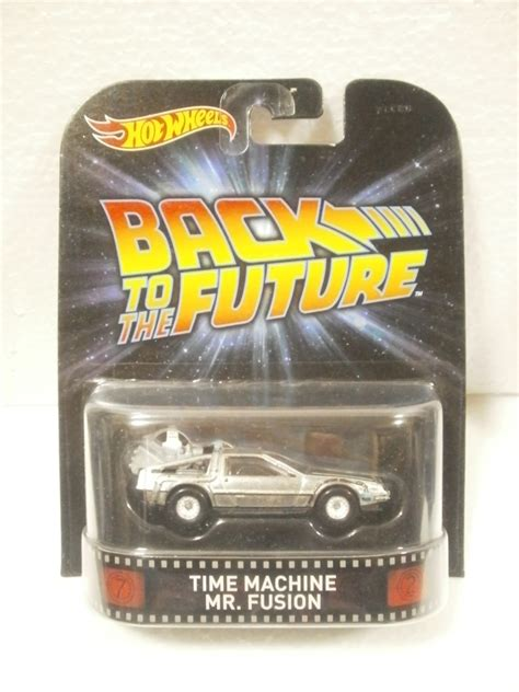 Hotwheels 1 64 Retro Back To The Future Time Machine Hover Mode 1 wheels retro back to the future time machine mr fusion