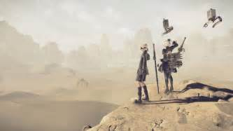 nier automata machine brand nier automata new screenshots showcase desert location and