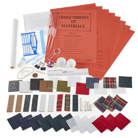 Characteristics Of Modern Media Technology by Characteristics Of Materials Kit Education
