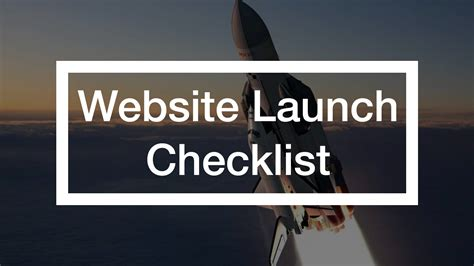 New Office Website Launches by Website Launch Checklist Process