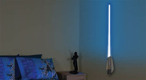 Lightsaber Wall Sconce 30 Truly Creative Ways To Light Up Your Home Hongkiat