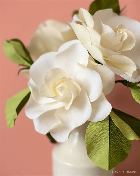 gardenia paper flower tutorial 849 best flowers paper images on pinterest crepe paper