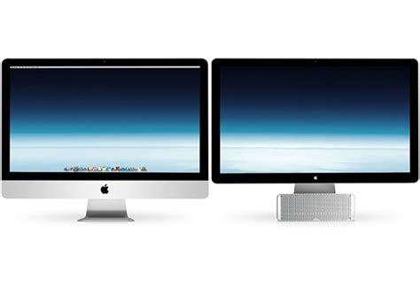 Monitor Imac mac how can i make my 27 quot imac and my 27 quot thunderbolt display the same height ask different